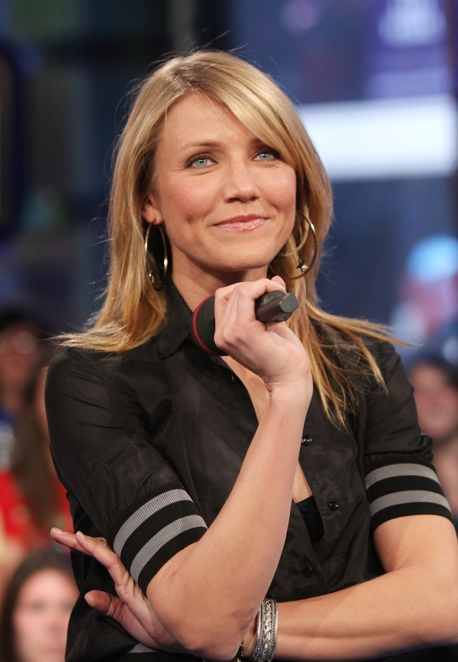 MTV TRL Presents Cameron Diaz, Ashton Kutcher & Snoop Dogg