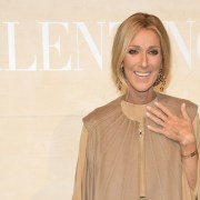 Celine Dion Valentino : Front Row - Paris Fashion Week - Haute Couture Spring Summer 2019