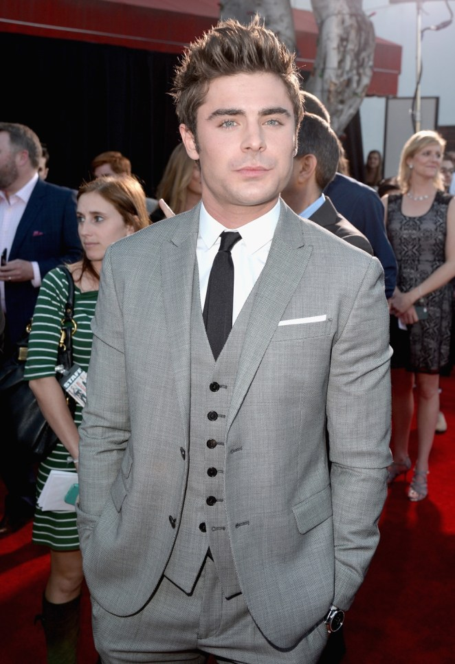 """Zac Efron Premiere Of Universal Pictures' """"Neighbors"""" - Red Carpet"""