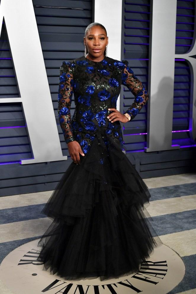 Serena Williams 2019 Vanity Fair Oscar Party Hosted By Radhika Jones - Arrivals