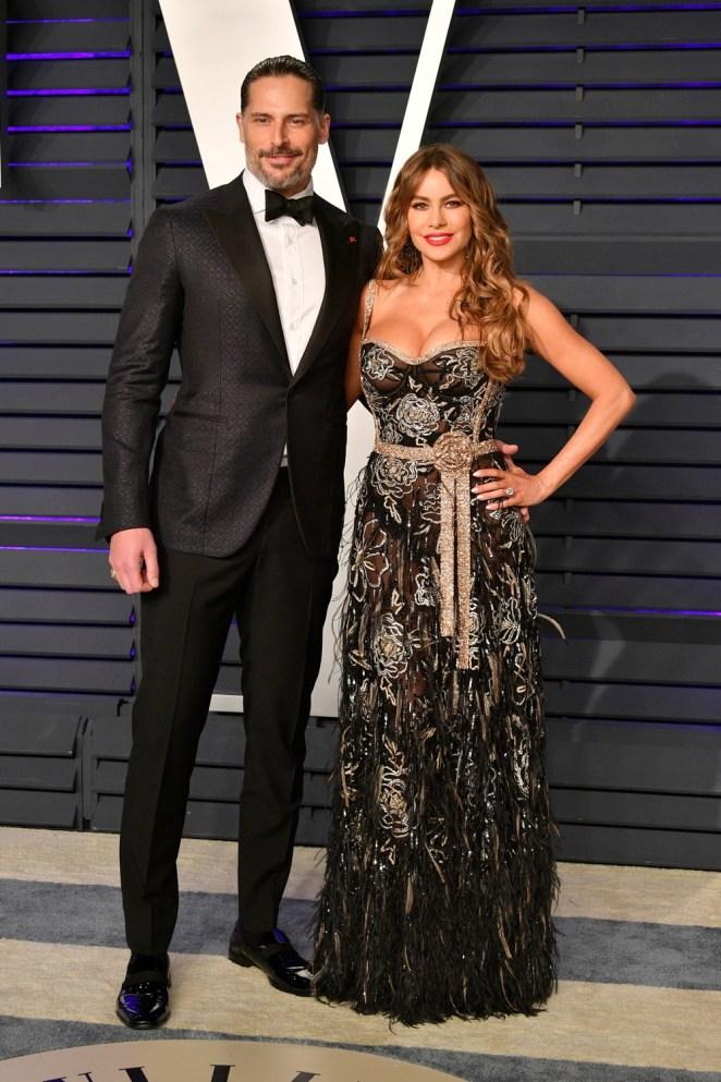 Sofia Vergara and Joe Manganiello 2019 Vanity Fair Oscar Party Hosted By Radhika Jones - Arrivals