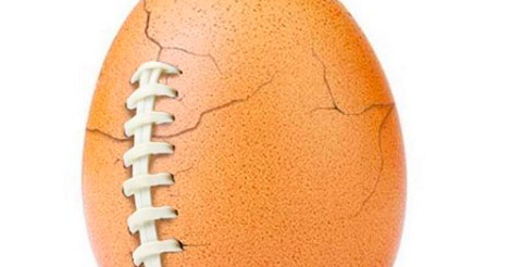 The world record egg upended Super Bowl Sunday marketing with a note about mental health 1