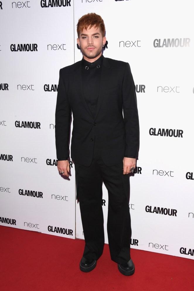 Adam Lambert Glamour Women Of The Year Awards 2017 - Red Carpet Arrivals