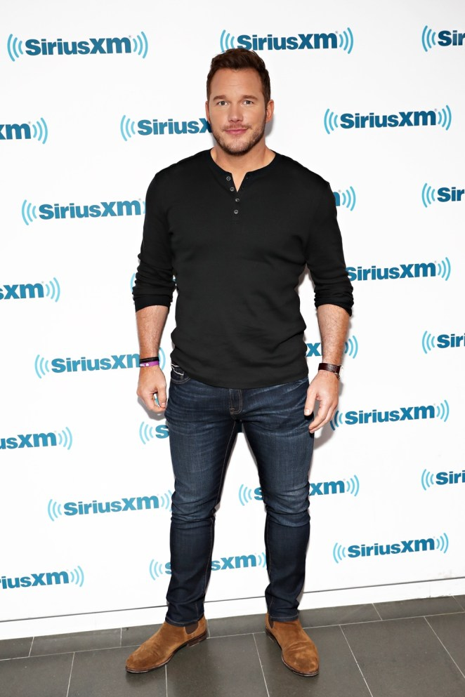 Chris Pratt SiriusXM's Town Hall With The Cast Of 'Jurassic World: Fallen Kingdom'