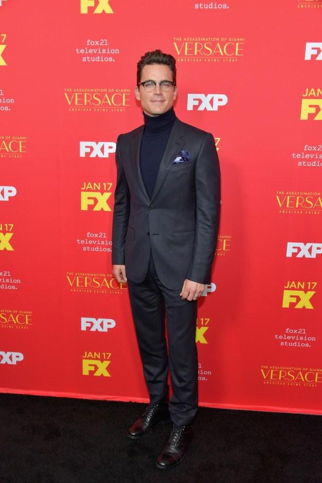 "Matt Bomer Premiere Of FX's ""The Assassination Of Gianni Versace: American Crime Story"" - Arrivals"