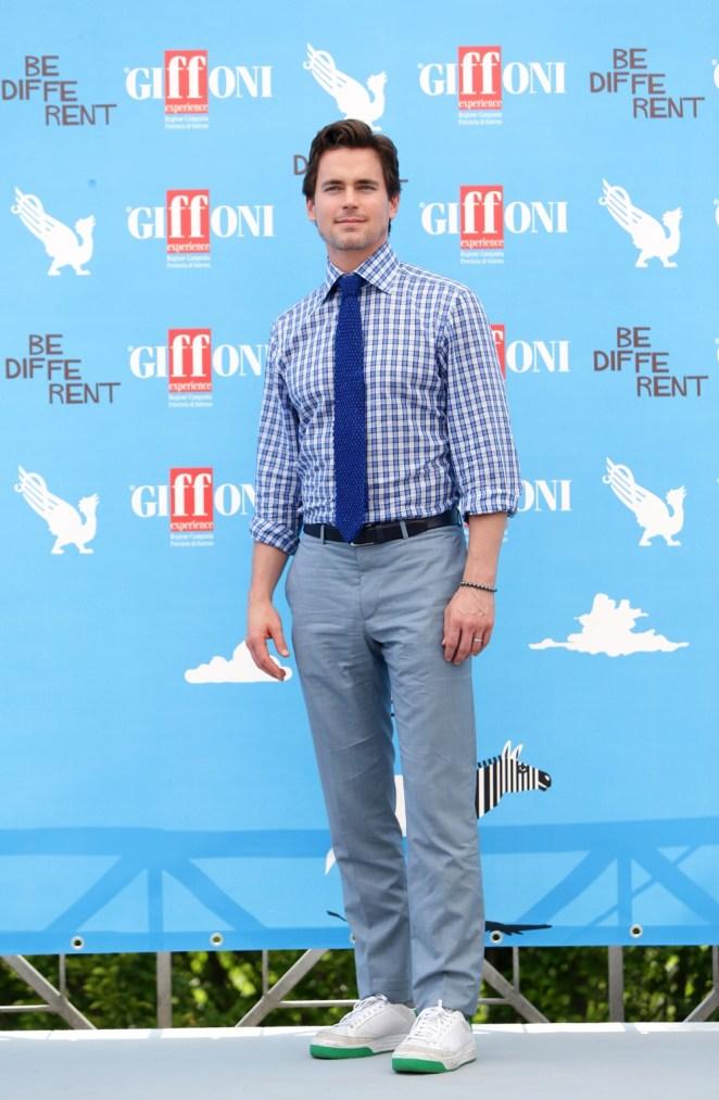 Matt Bomer Giffoni Film Festival - Day 2