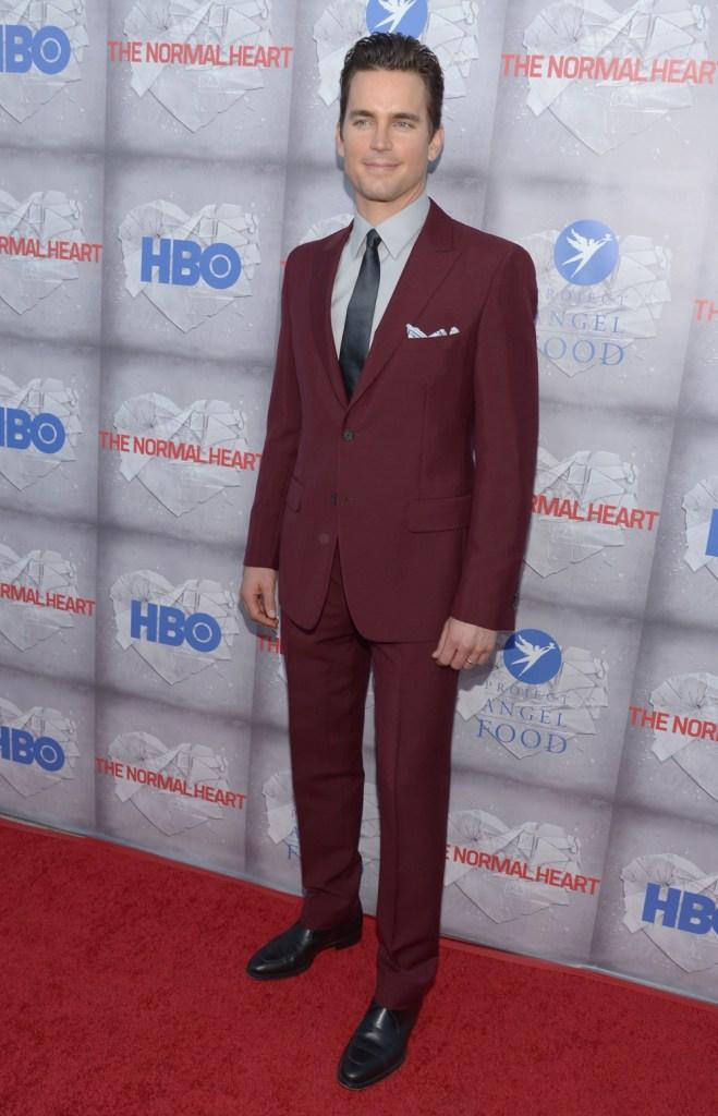 "Matt Bomer HBO's ""The Normal Heart"" Premiere - Arrivals"