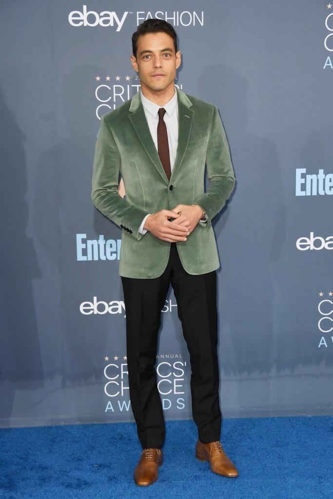 Rami Malek The 22nd Annual Critics' Choice Awards - Arrivals
