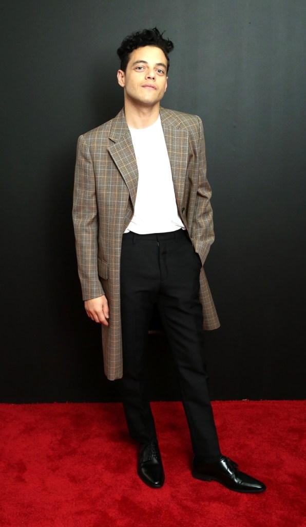 Rami Malek Calvin Klein Collection - Arrivals - September 2018 - New York Fashion Week