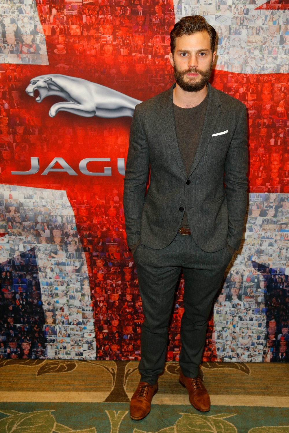 Jamie Dornan BAFTA Los Angeles TV Tea 2015 Presented By Jaguar And Mulberry