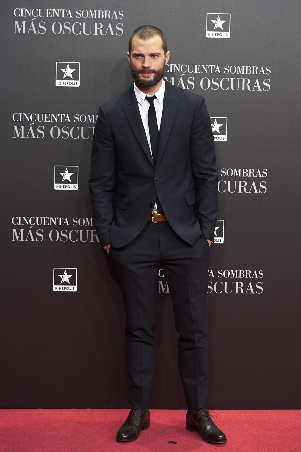 Jamie Dornan 'Fifty Shades Darker' Madrid Premiere