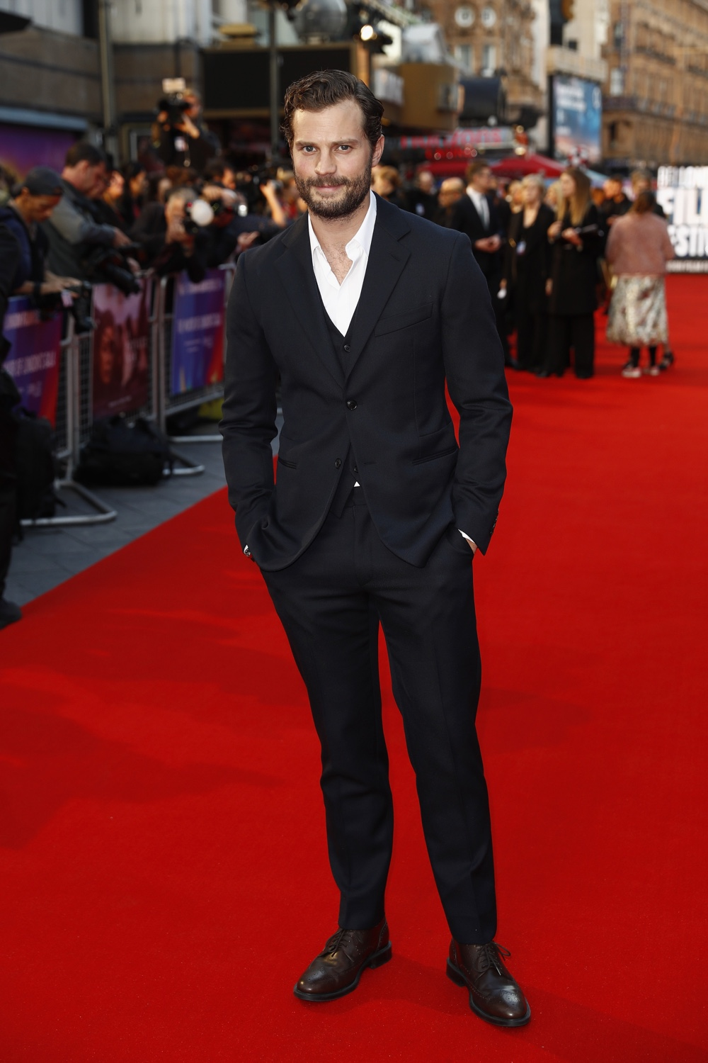 "Jamie Dornan ""A Private War"" European Premiere - 62nd BFI London Film Festival"