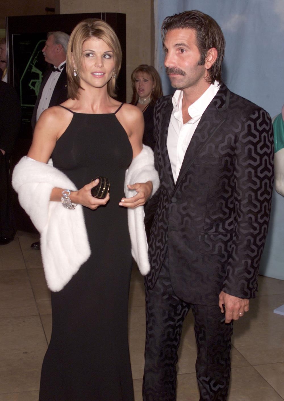 Lori Loughlin and her husband Mossimo Carousel of Hope 2000
