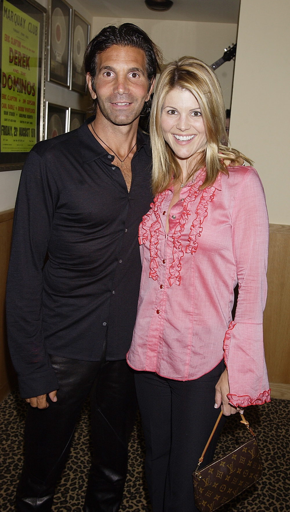 Actress Lori Laughlin and husband/designer Mossimo Giannulli Birthday Party For Harry Morton At Hard Rock Hotel