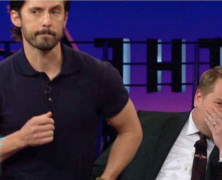 Milo Ventimiglia Gave James Corden a Lap Dance