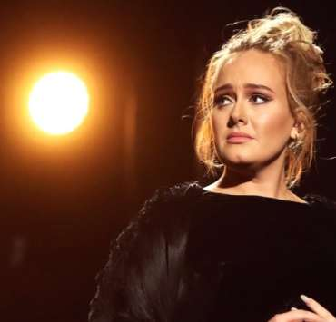 Adele The 59th GRAMMY Awards - Roaming Show