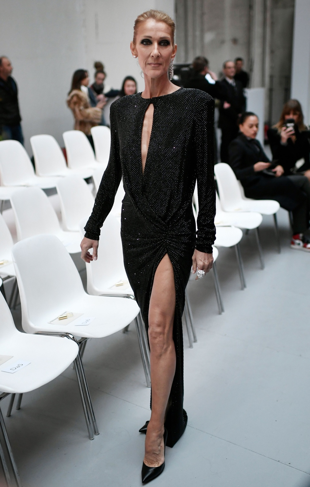 Celine Dion FASHION-FRANCE-VAUTHIER