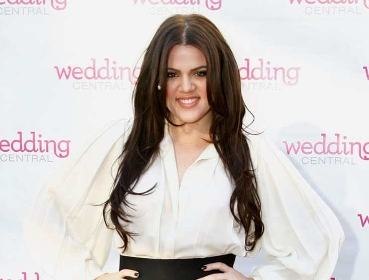 "Khloe Kardashian Wedding Central ""If The Shoe Fits"" Stunt At Madison Square Park"