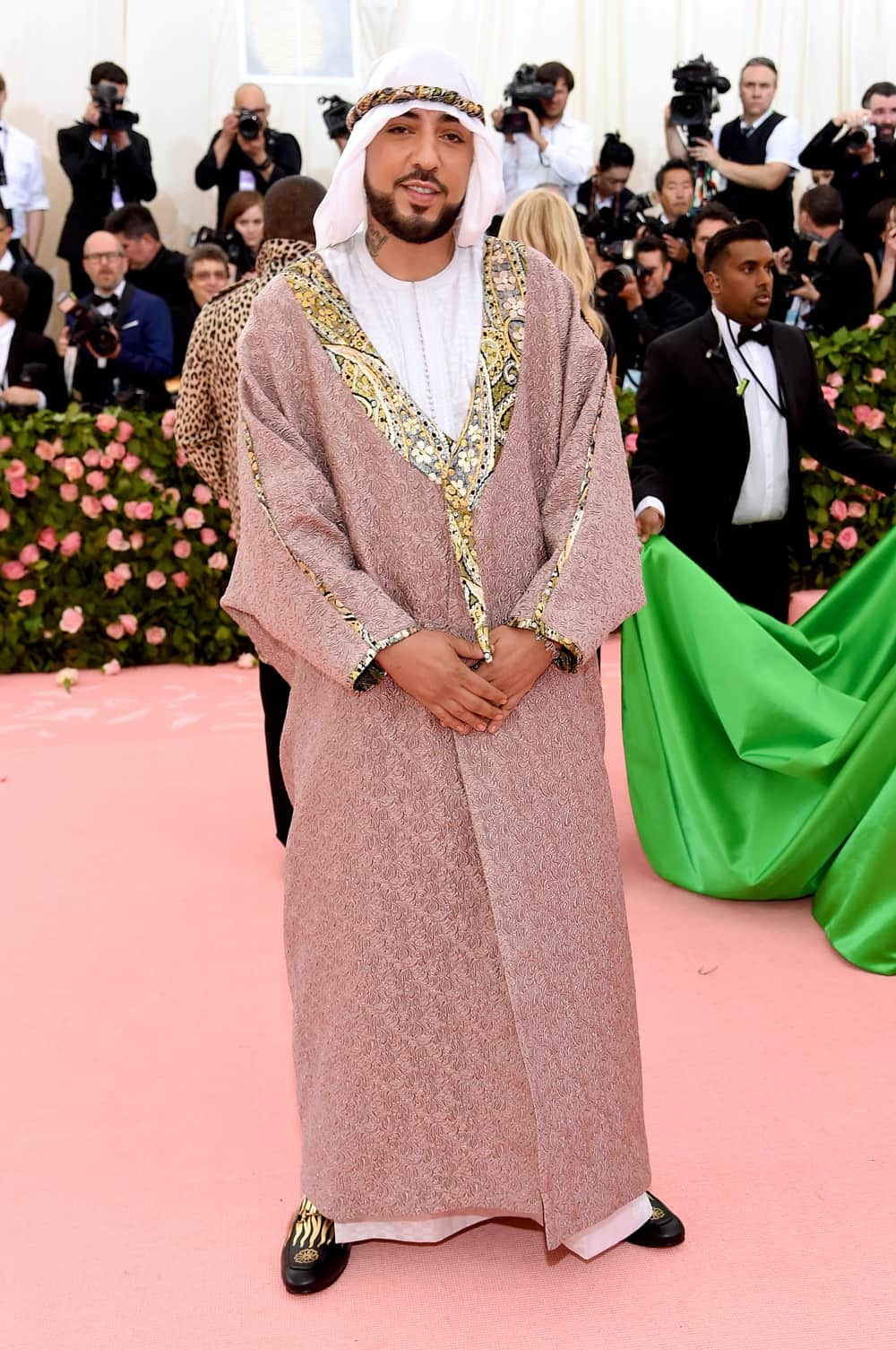 French Montana The 2019 Met Gala Celebrating Camp: Notes on Fashion - Arrivals