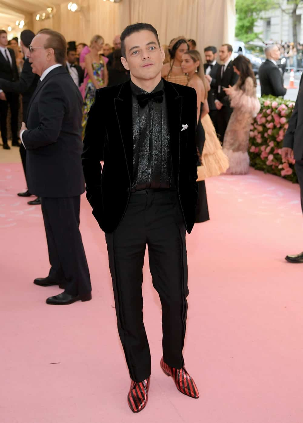 Rami Malek The 2019 Met Gala Celebrating Camp: Notes on Fashion - Arrivals