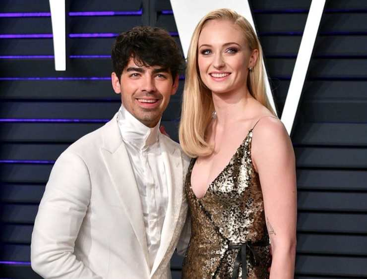 Joe Jonas and Sophie Turner 2019 Vanity Fair Oscar Party Hosted By Radhika Jones - Arrivals