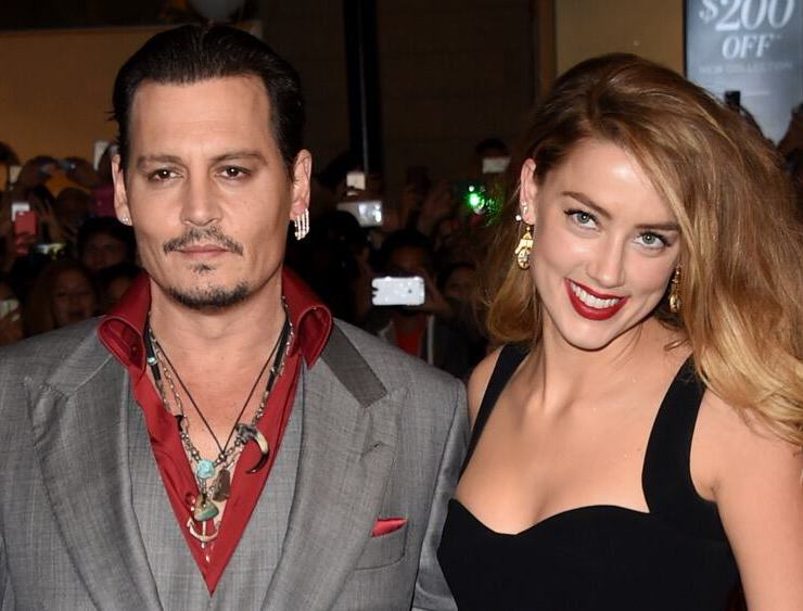 "Johnny Depp and Amber Heard 2015 Toronto International Film Festival - ""Black Mass"" Premiere - Arrivals"