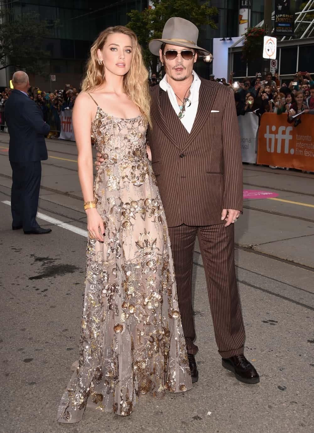 "Johnny Depp and Amber Heard 2015 Toronto International Film Festival - ""The Danish Girl"" Premiere"