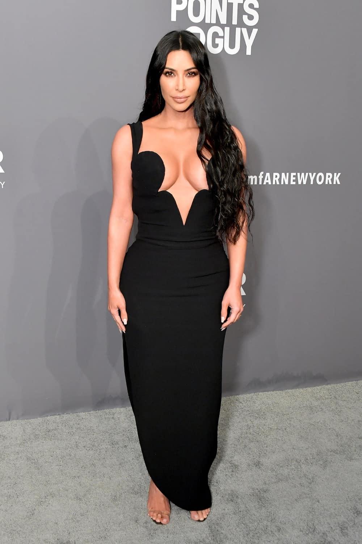 Kim Kardashian amfAR New York Gala 2019 - Arrivals