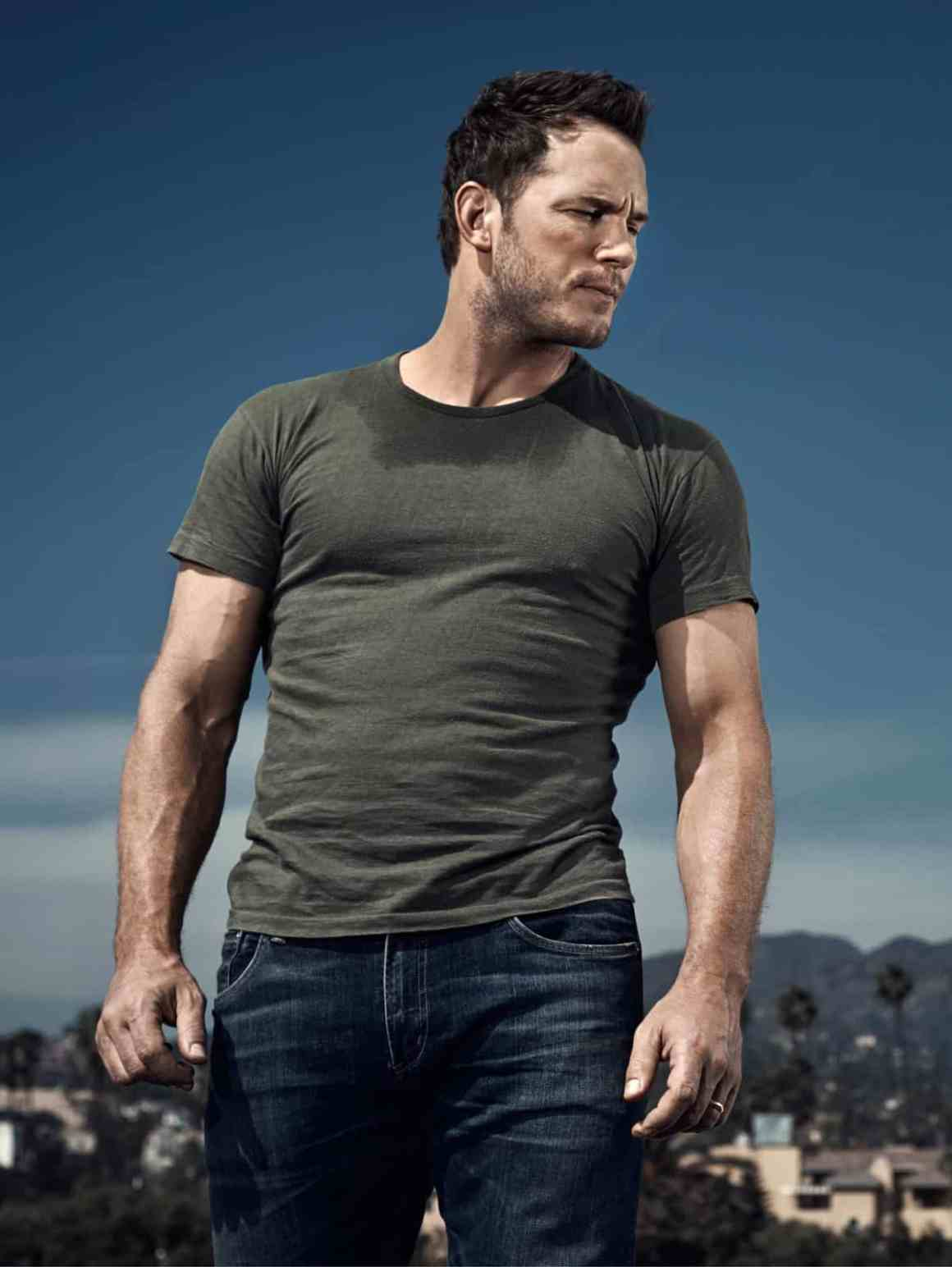 Chris Pratt Men's Health UK