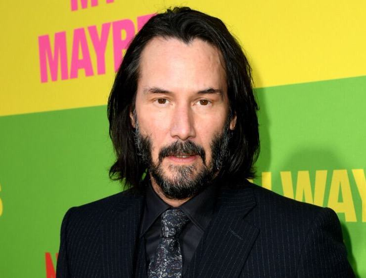 """Keanu Reeves at the Premiere Of Netflix's """"Always Be My Maybe"""" - Red Carpet"""