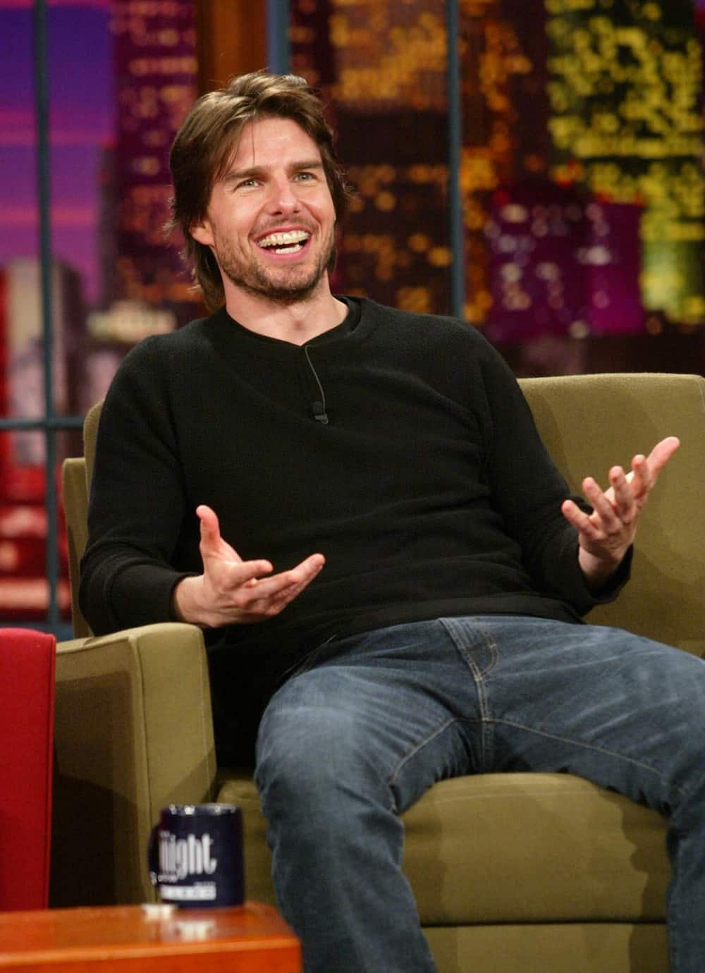 The Tonight Show with Jay Leno-Tom Cruise