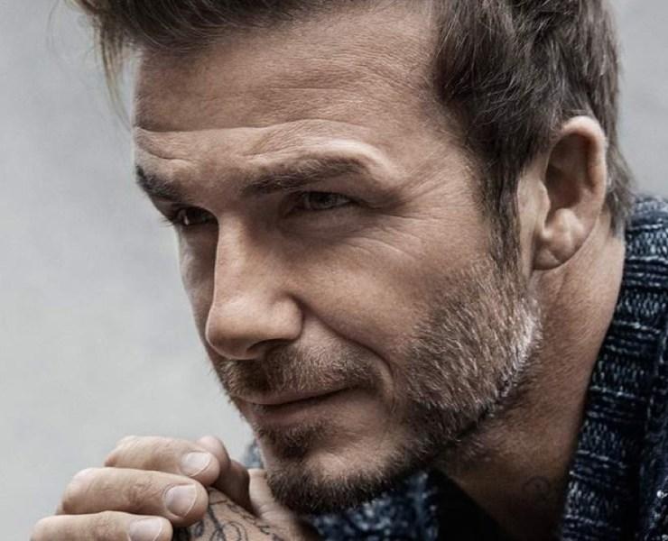 David Beckham for Mr. Porter