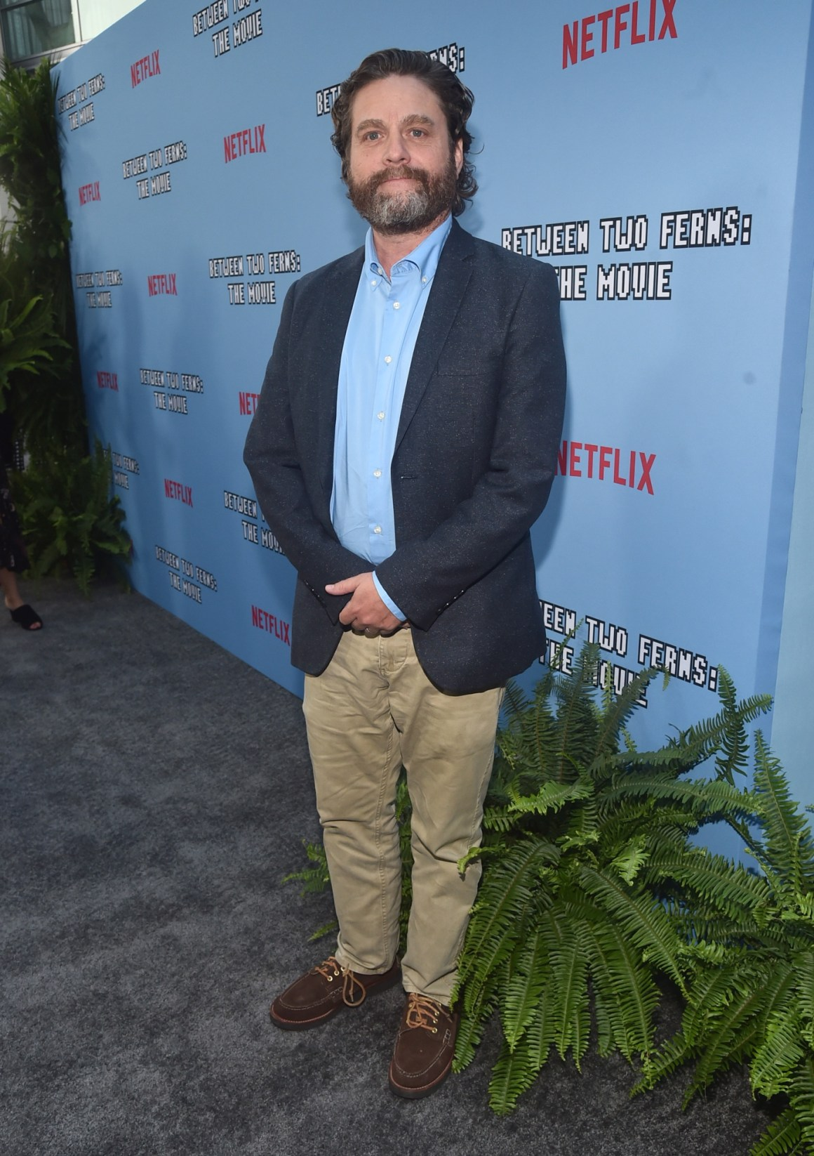 """LA Premiere Of Netflix's """"Between Two Ferns: The Movie"""" - Red Carpet"""