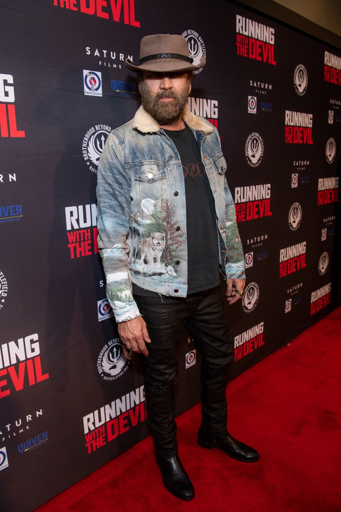 """Premiere Of Quiver Distribution's """"Running With The Devil"""" - Red Carpet"""