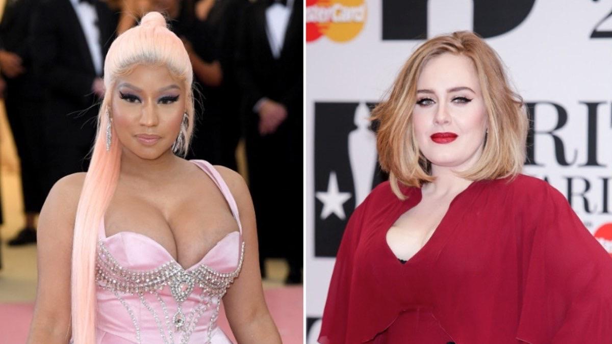 Adele and Nicki Minaj