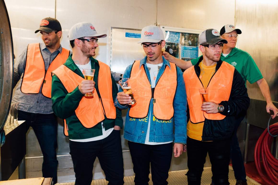 Coors Light and Jonas Brothers Limited Edition Six-Packs Are Now Available Via goPuff