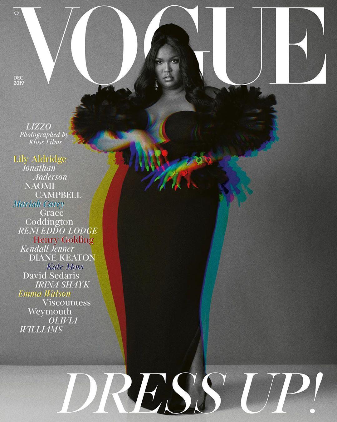 Lizzo British Vogue