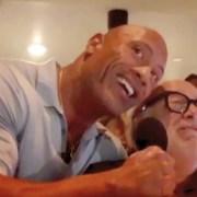 Dwayne Johnson and Danny DeVito