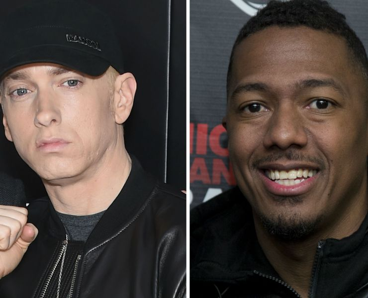 Eminem Nick Cannon Feud
