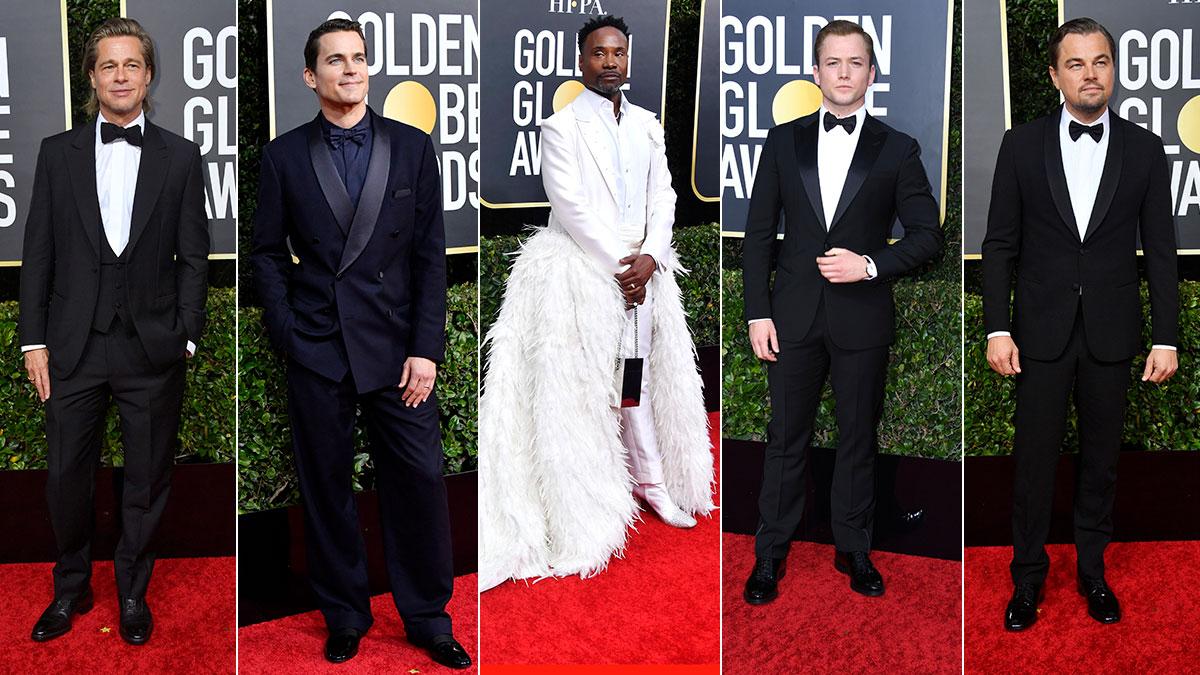 2020 Golden Globes Red Carpet Men