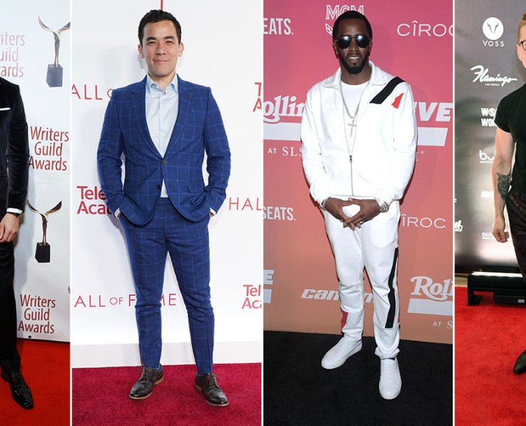 Red Carpet Recap: Sam Heughan, Conrad Ricamora, Sean Combs, Tyler Oakley