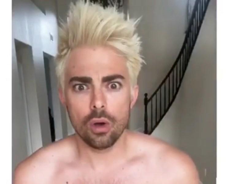 blonde Jonathan Bennett
