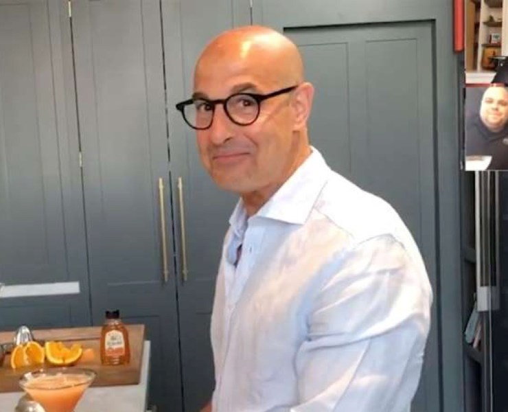 Stanley Tucci Whips Up a Quarantini
