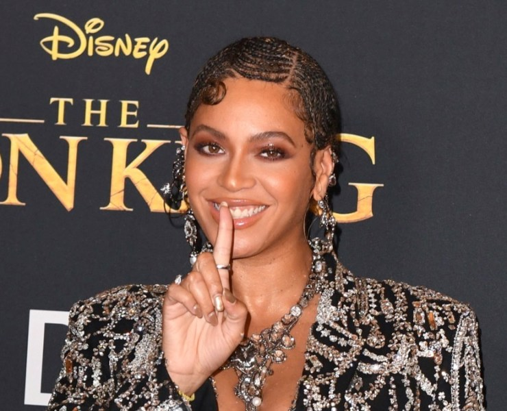 "Beyonce arrives for the world premiere of Disney's ""The Lion King"""