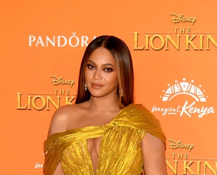 """Beyoncé European Premiere of Disney's """"The Lion King"""""""