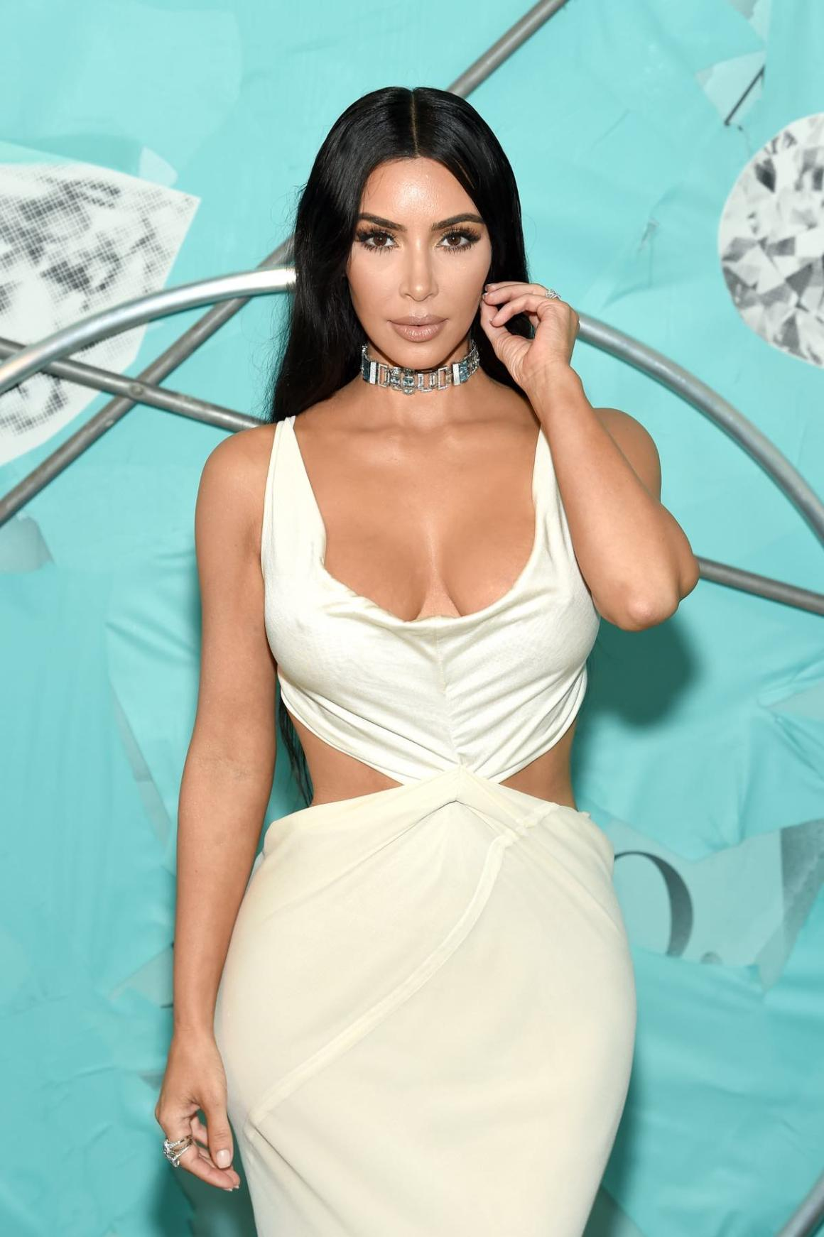 Kim Kardashian attends Tiffany & Co. Celebrates 2018 Tiffany Blue Book Collection, THE FOUR SEASONS OF TIFFANY - Inside