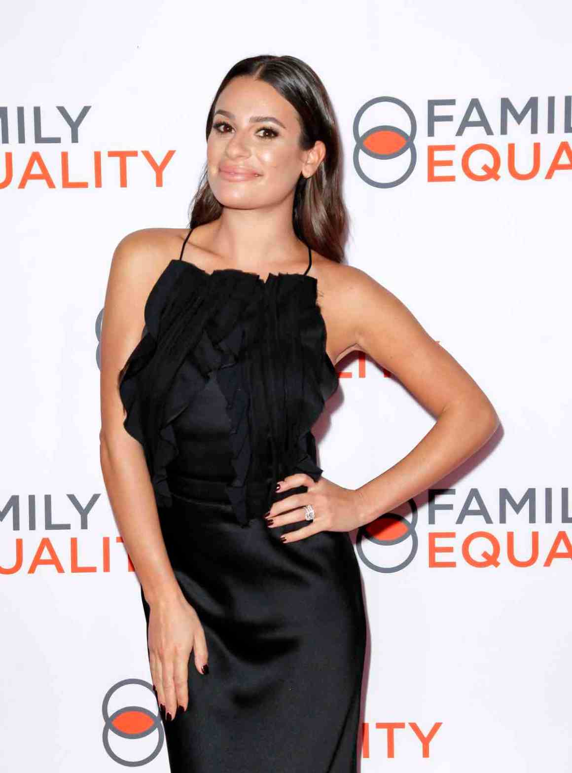 Lea Michele attends theFamily Equality Los Angeles Impact Awards 2019
