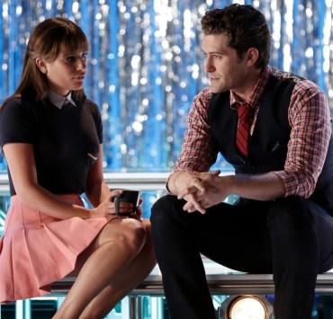 Matthew Morrison and Lea Michele Glee