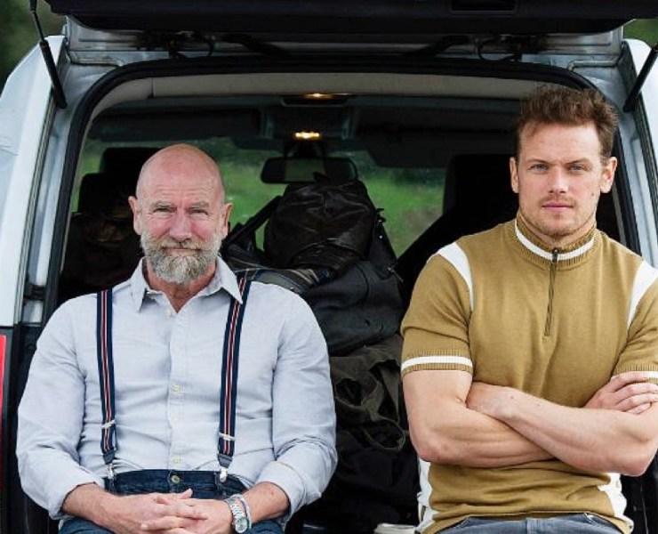 Sam Hueghan and Graham McTavish Are 'Men in Kilts'