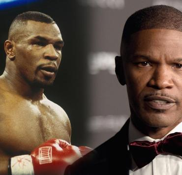 Jamie Foxx and Mike Tyson